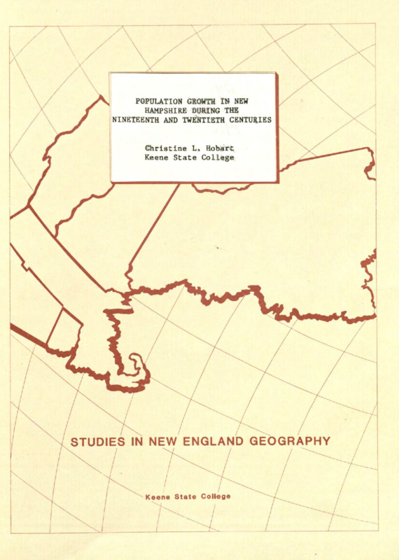 Studies in New England Geography